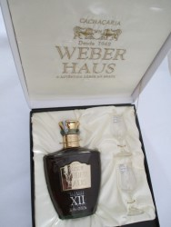 Cachaça Weber Haus 750ml XII anos - lote 48